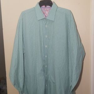 BUGATCHI |Men's Dress Shirt | XXL
